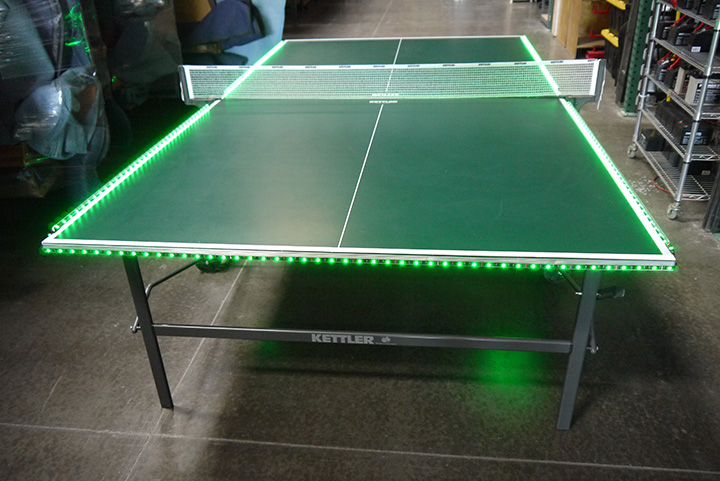 LED Ping Pong Table