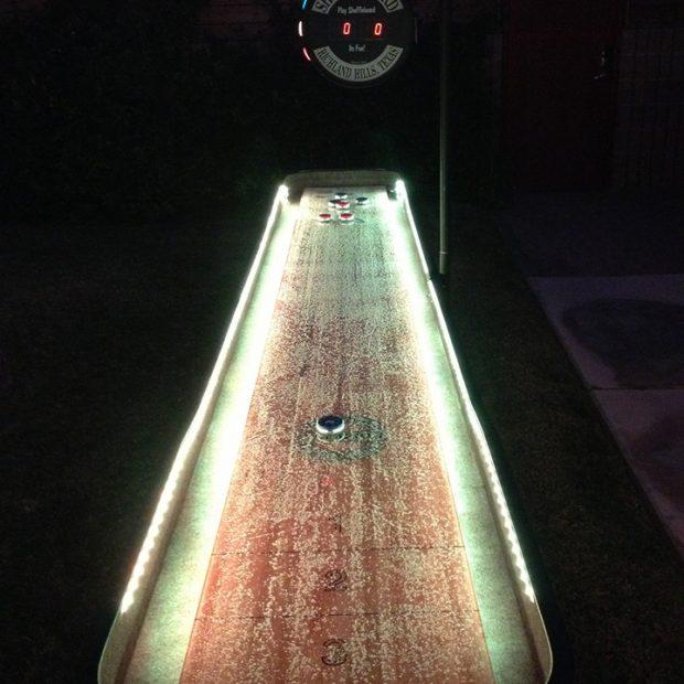 LED Shuffleboard