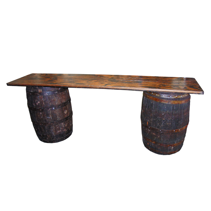 8ft Barrel Table