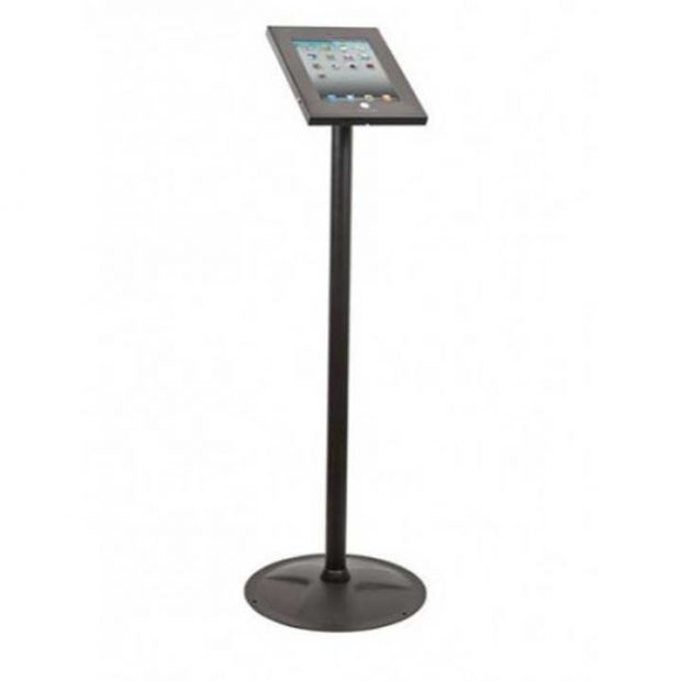 ipad kiosk stand - black