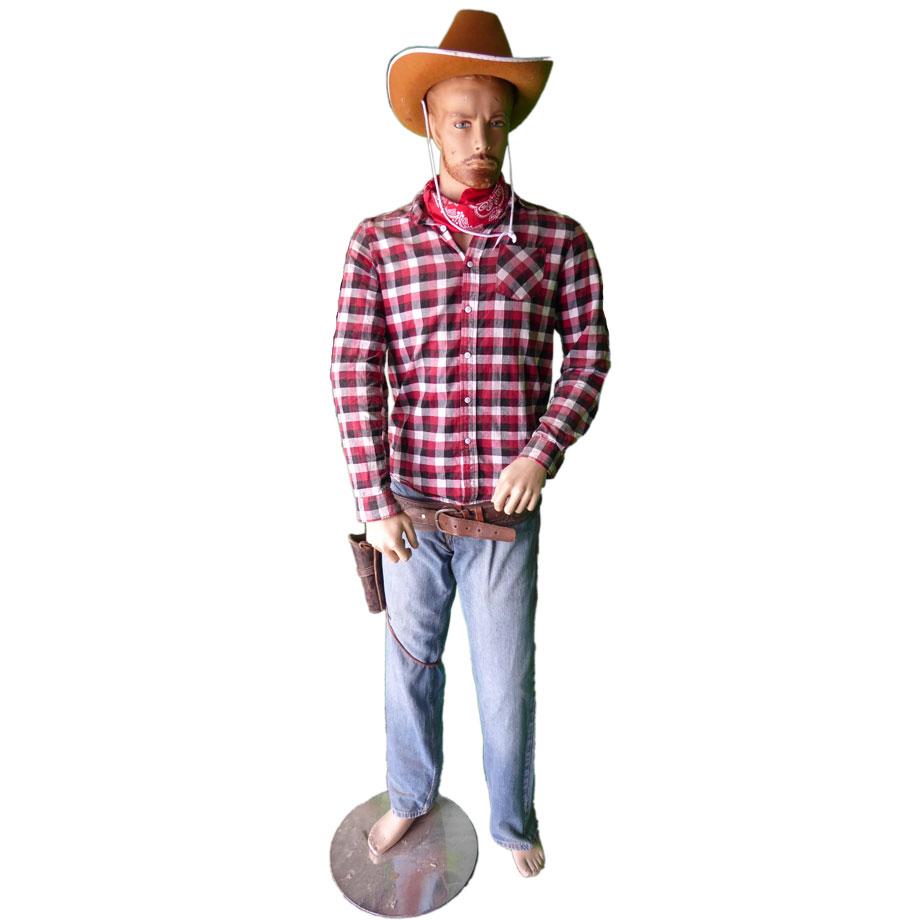 Cowboy Mannequin