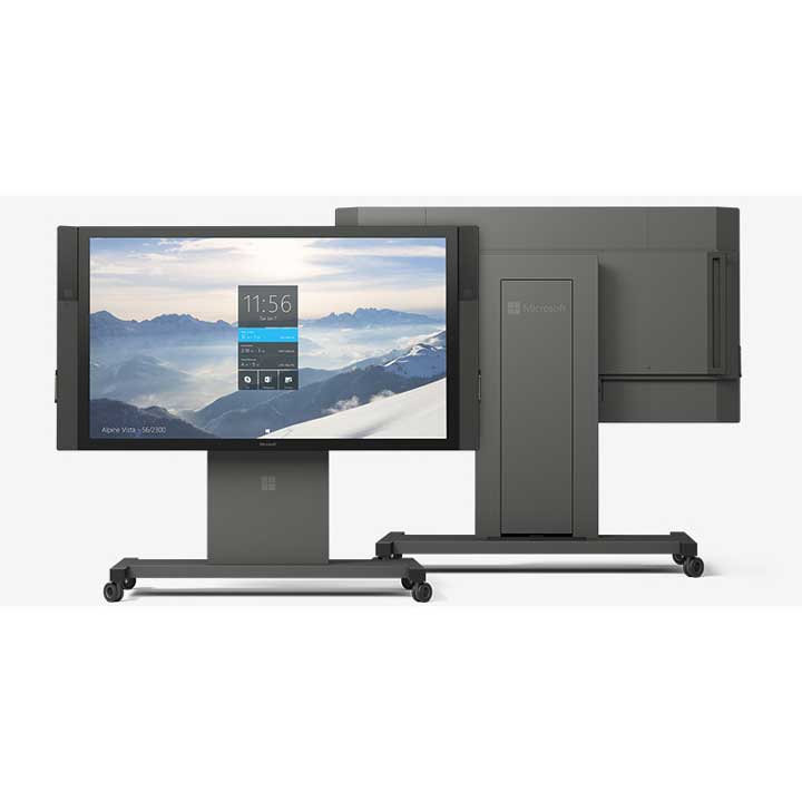 Microsoft Surface HUB Front Back
