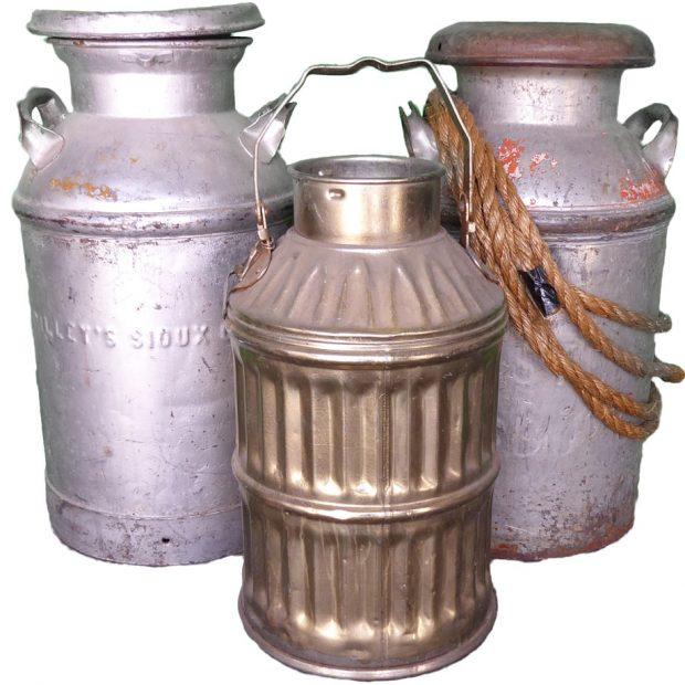 Old Western Milk Buckets