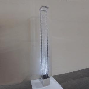 Beaded Crystal Column