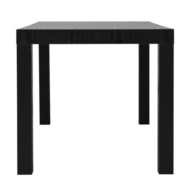 Black Cocktail Table end