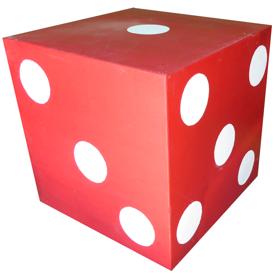 Giant Red Dice