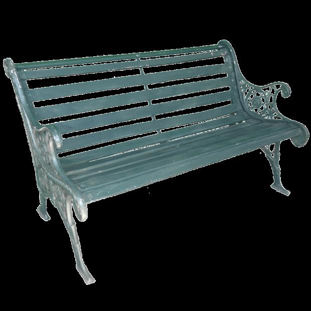 Metal Park Bench