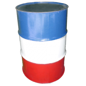 Rodeo Barrel Red White Blue