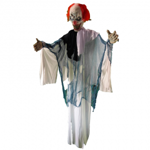 Black and White Ghost Clown