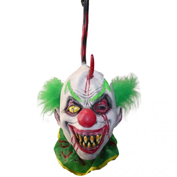 Clown Head on Hook