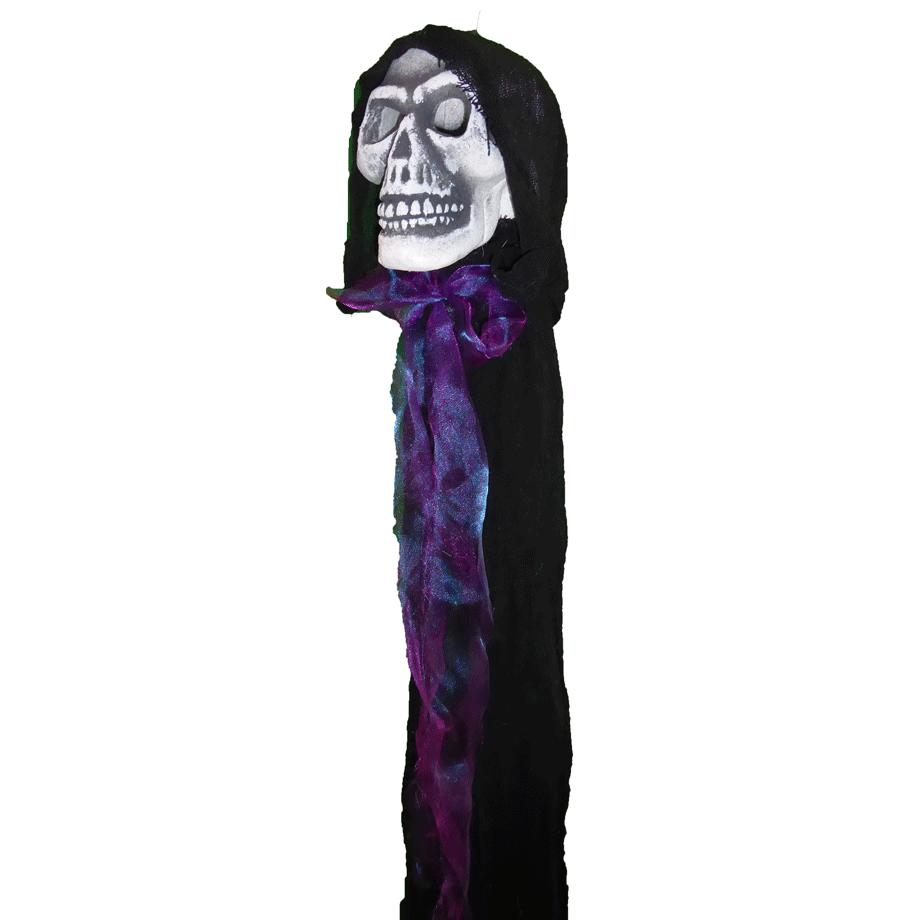 Floating Hooded Skull