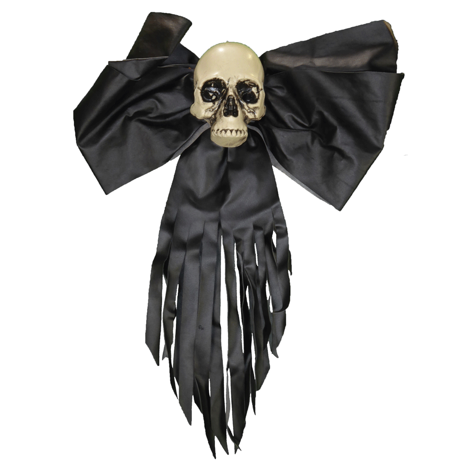 Skull on Black bow