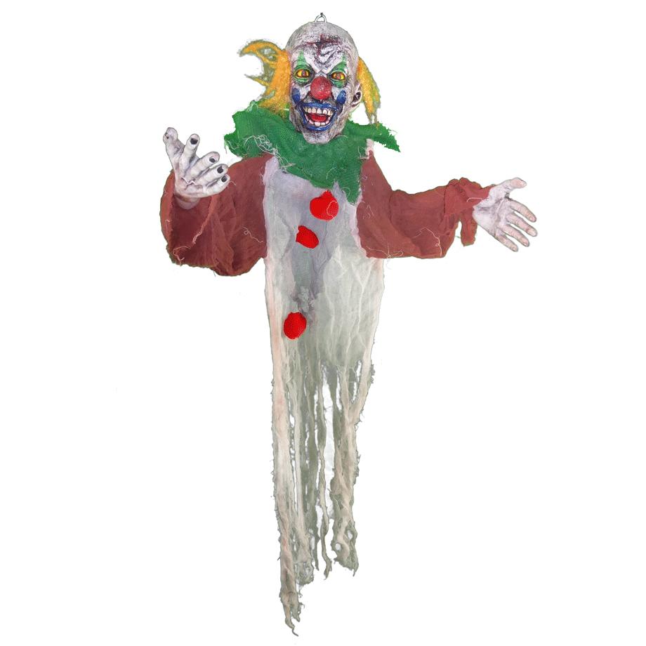 Yellow Hair Ghost Clown