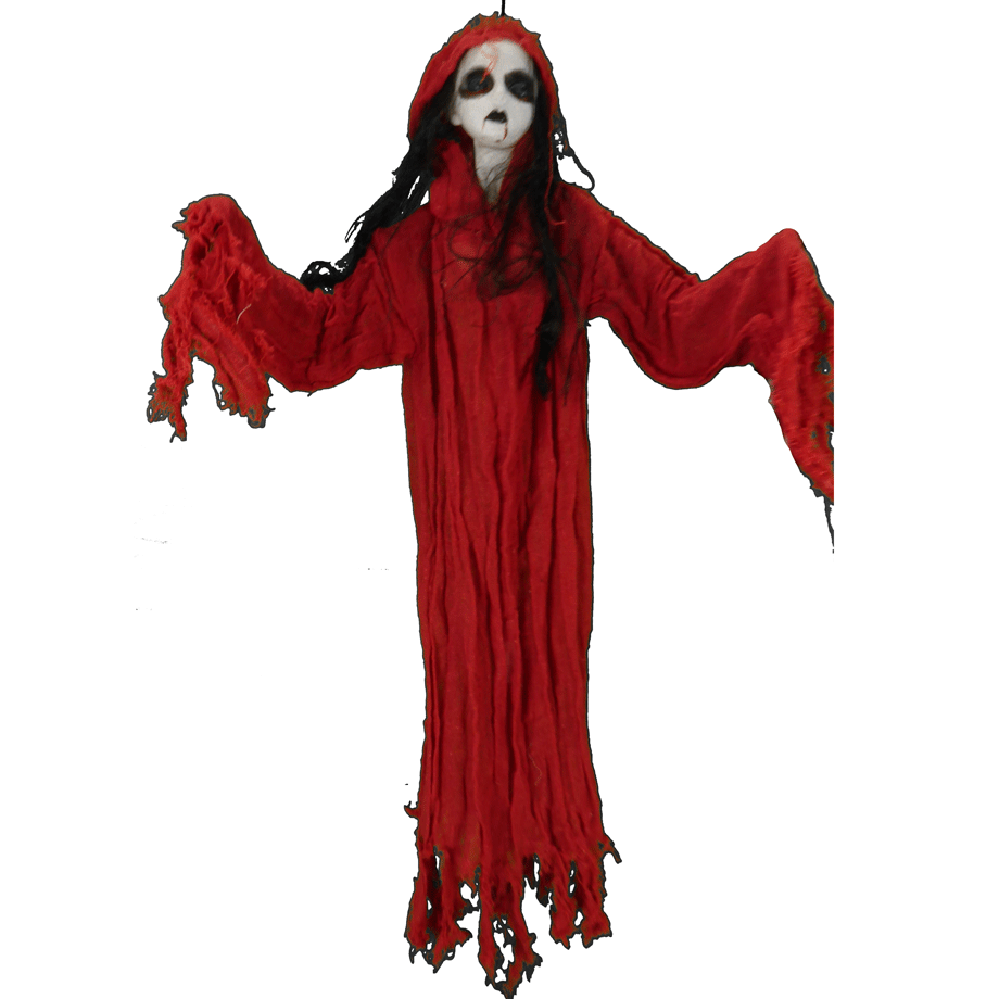 Zombie In Red Dress
