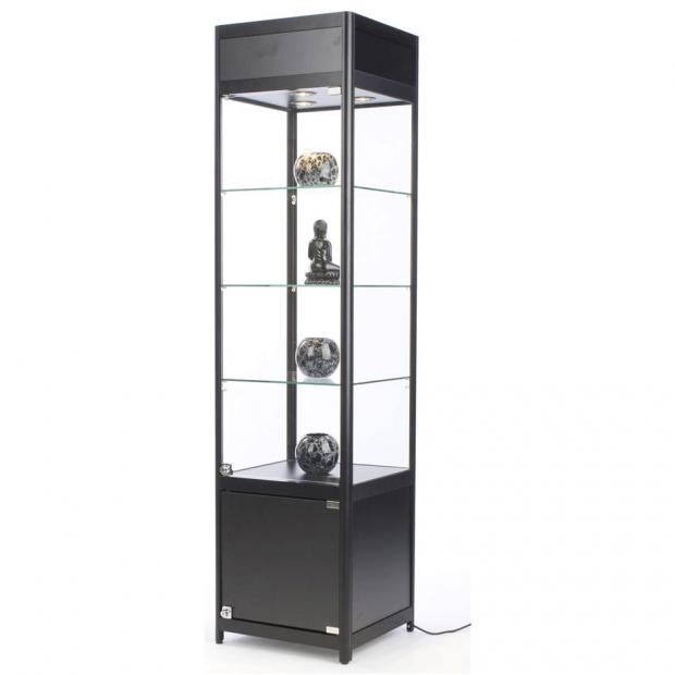 Black Display Case