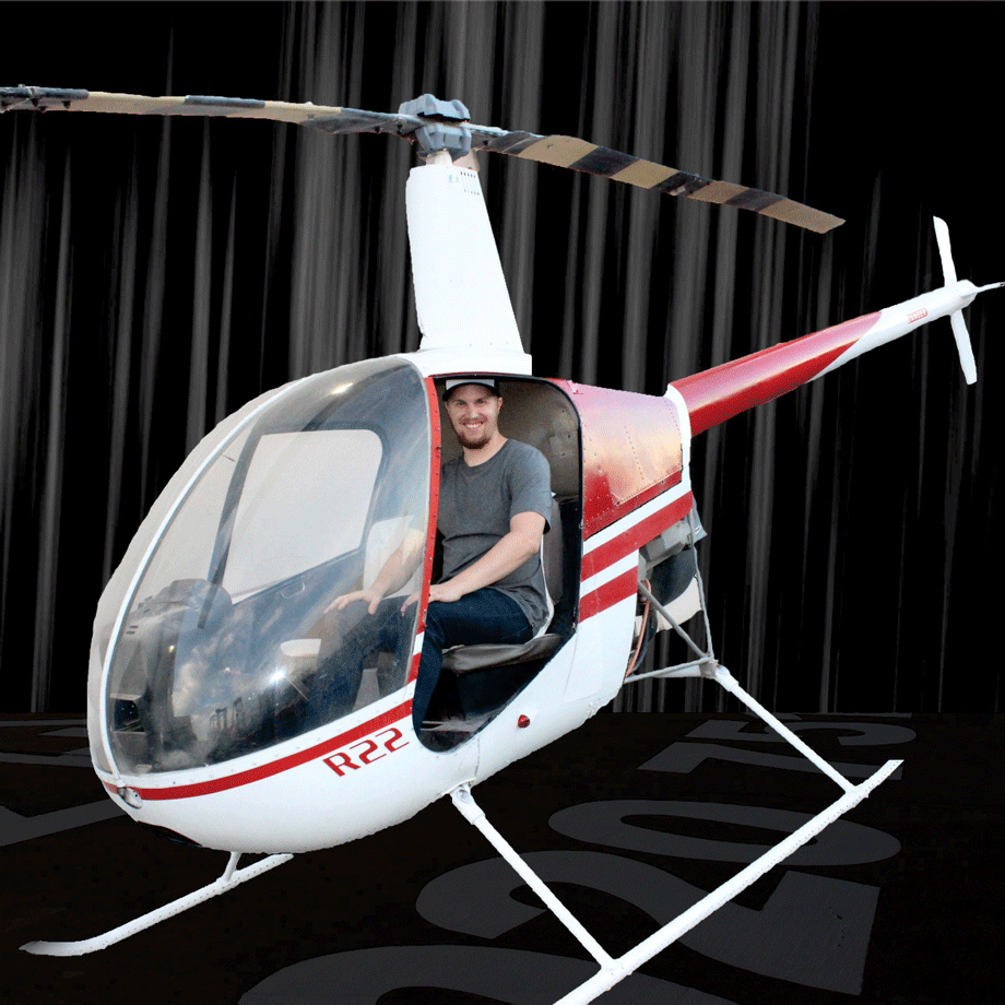 Helicopter Photo-Op