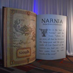 Giant Narnia Book