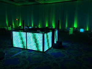 360 LED Tile DJ Booth
