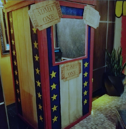 Admit One Ticket Booth