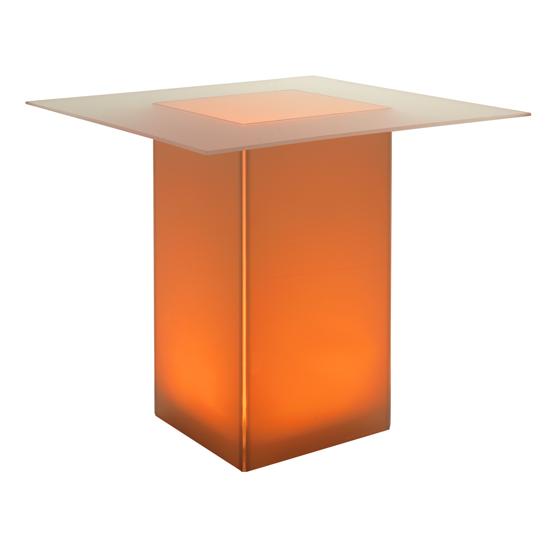 kool GLO Bar Table 48in Amber