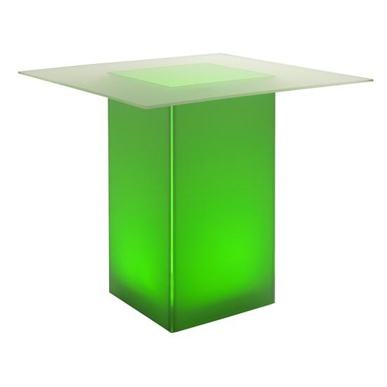 kool GLO Bar Table 48in Green
