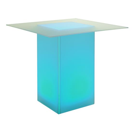 kool GLO Bar Table 48in Turquoise