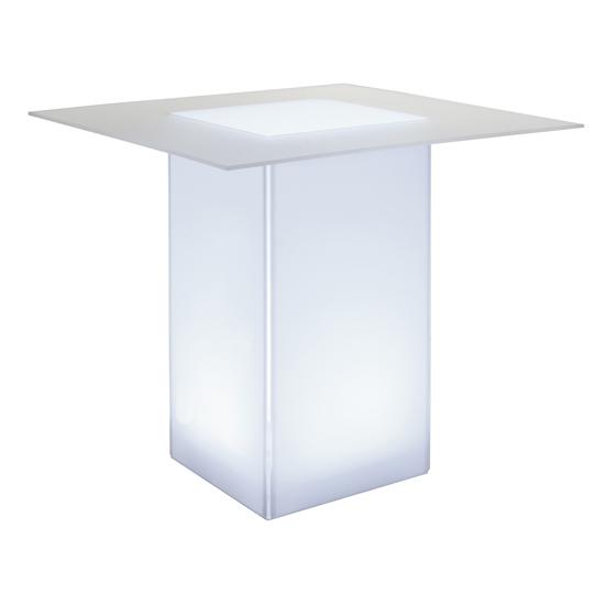 kool GLO Bar Table 48in White
