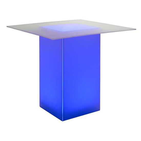 kool GLO Bar Table 48in Blue