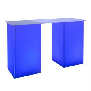 kool GLO Bar Table 72in Blue