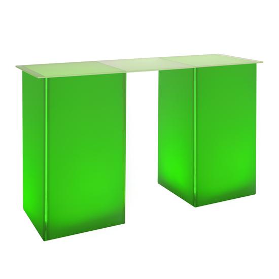 kool GLO Bar Table 72in Green