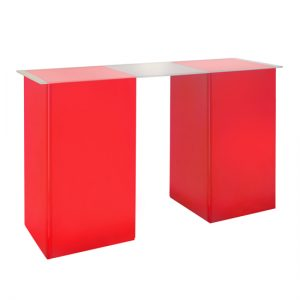 kool GLO Bar Table 72in Red