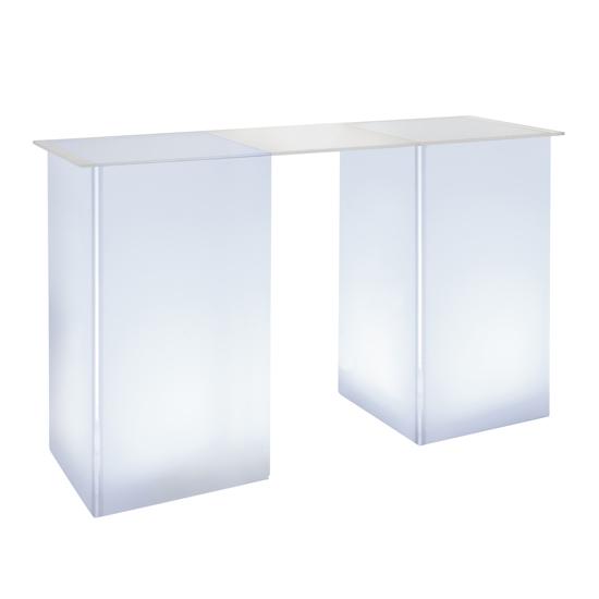 kool GLO Bar Table 72in White