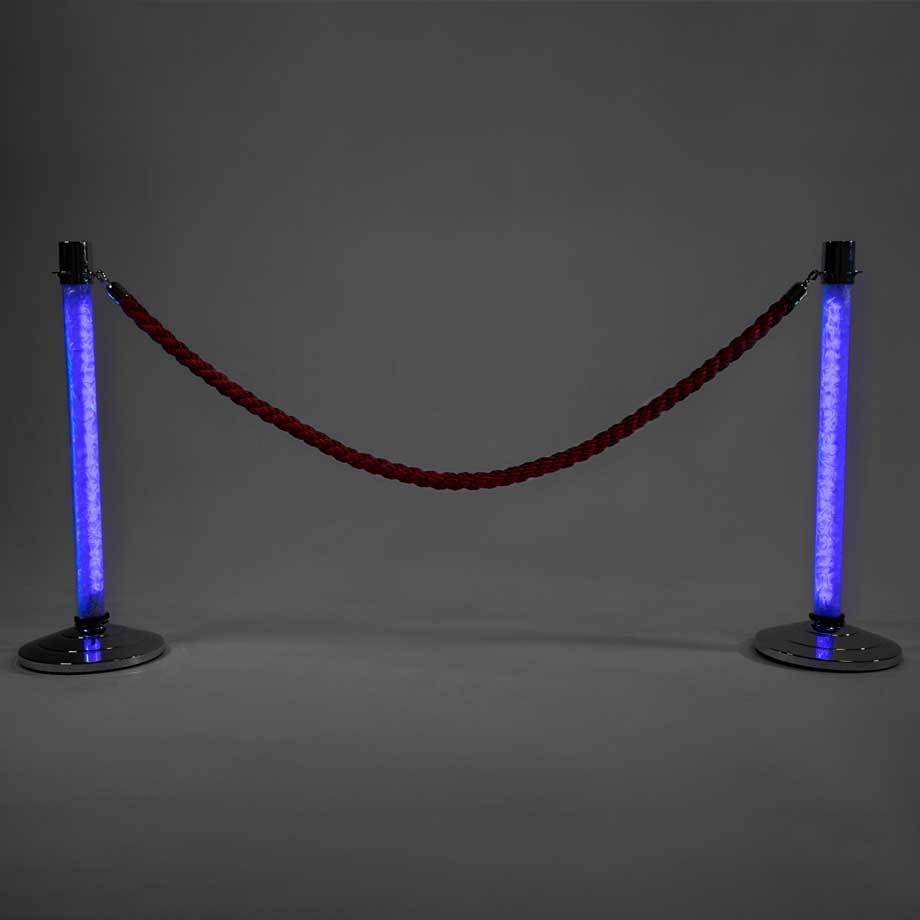 LED Stanchions Blue