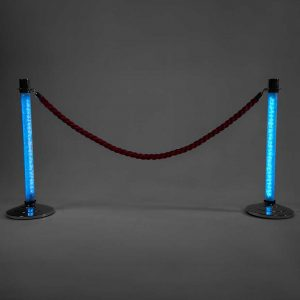 LED Stanchions Light Blue