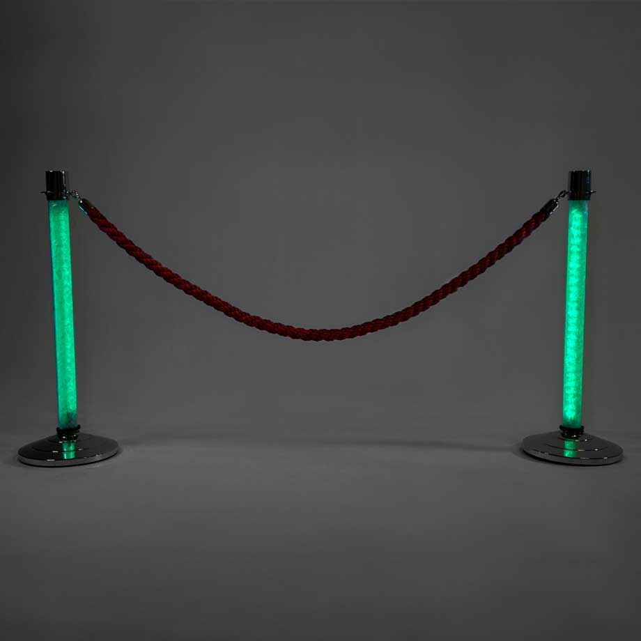 LED Stanchions Light Green