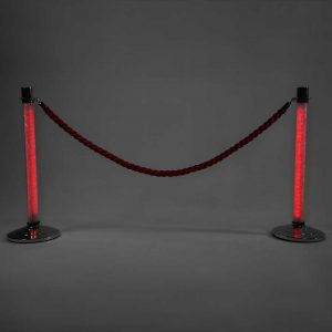 LED Stanchions Red