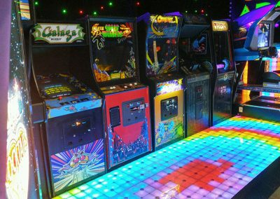 Arcade and Games LED floor