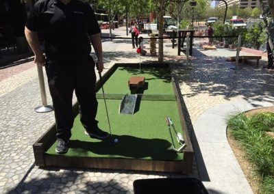 Arcade and Games Mini Golf