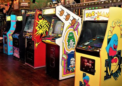 Arcade and Games Pac Man