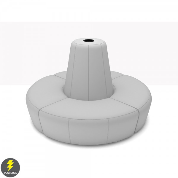 Full Banquette w Electrical Charging Outlet