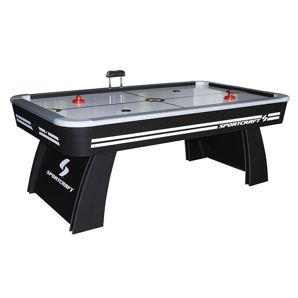 Sportcraft 7' Air Hockey & Table Tennis Table