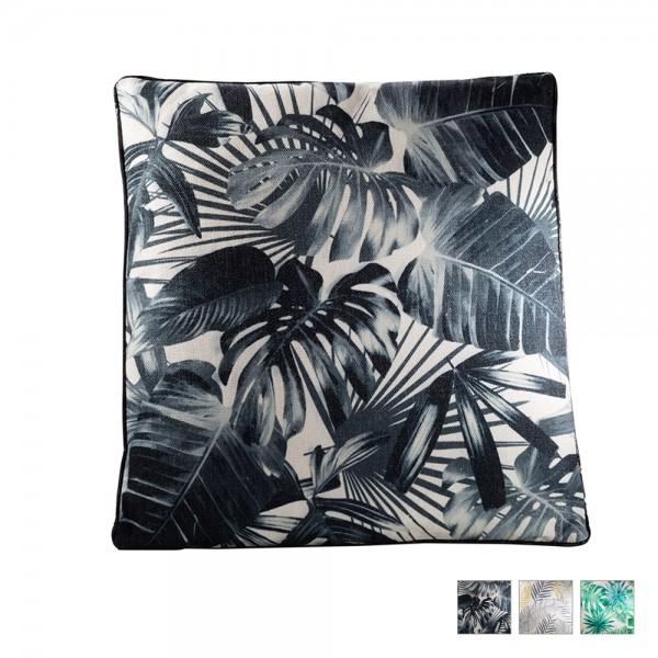Tropical Pillow black beige