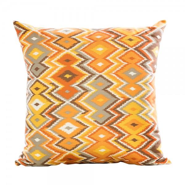 Zig Zag Pillow orange yellow