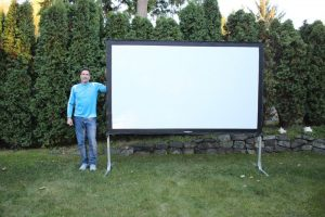 "Projector Screen 120"""