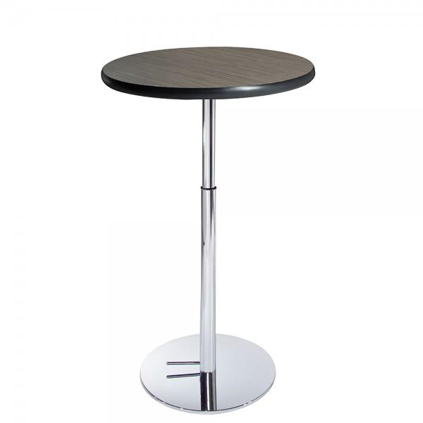 30 Round Madison Bar Table w Hydraulic Base