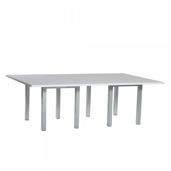 8' Rectangle Conference Table White