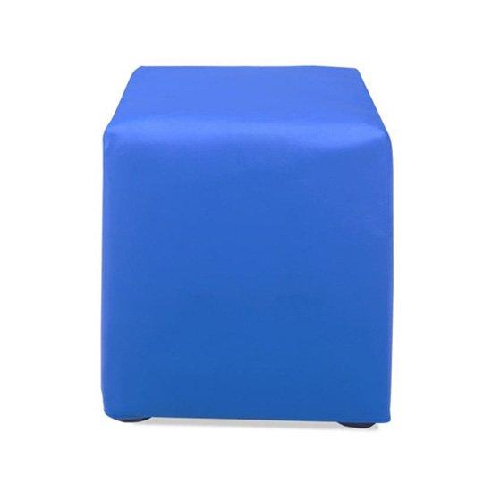 Vinyl Cube Ottomans