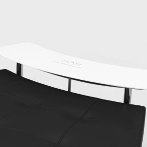 Endless Powered Closed Circle Ottoman w Small Curved Tables