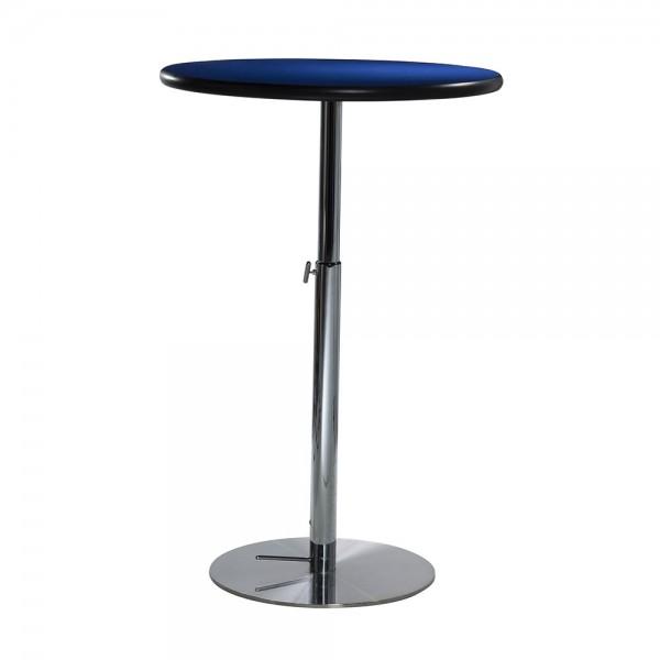 """30"""" Round Bar Table w/Hydraulic Base"""