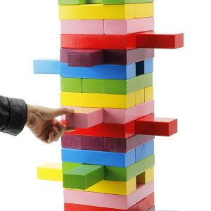Giant Stacking Game with Dice